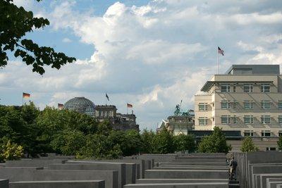 Denkmal, Reichstag und Brandenburg Tor's Quadriga