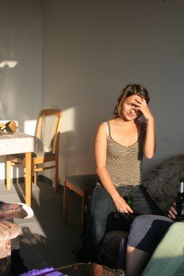 Marianne, une étudiante de la Suisse.