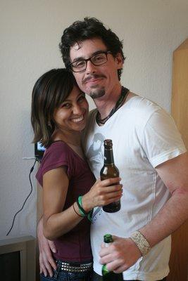 Max, irlandais, et Angela, mexicaine.