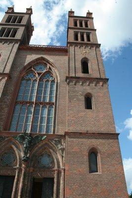 Friedrichwerdersche Kirche est devenue le Schinkelmuseum : Musée gratuit, en l'honneur de Karl Friedrich Schinkel, architecte.