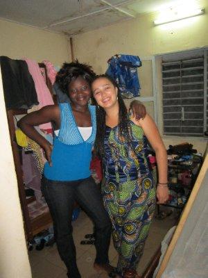 Marie-Christine et moi
