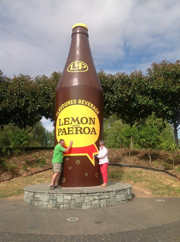 Giant L & P Bottle