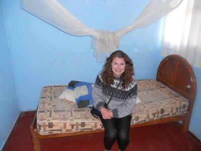 Alice in her old room.