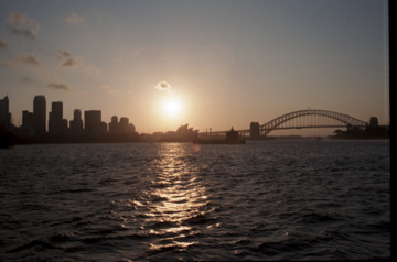 Opera House sunset