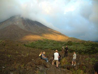 El Arenal volcano