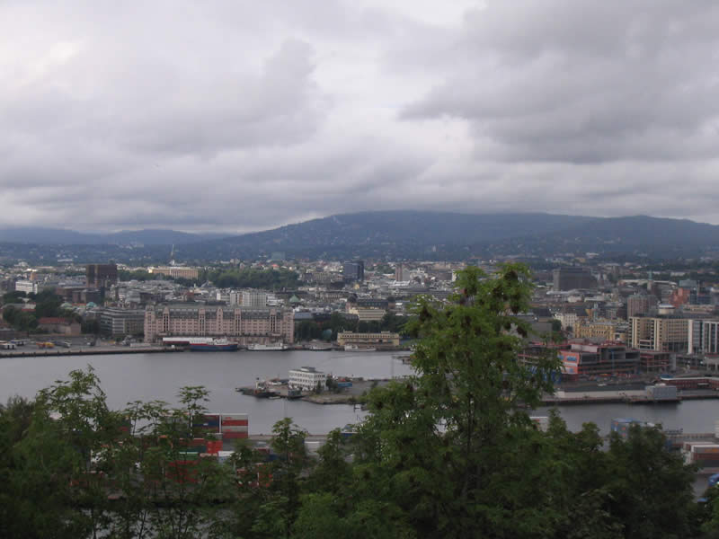 View over Oslo (2)