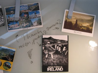 Postcards from Ireland!!!