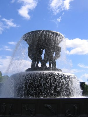 Fountain at Vigelands Park