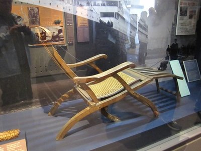 Titanic Deckchair