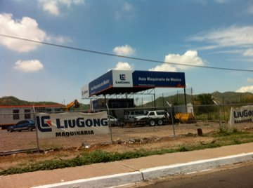 Liu Gong Chinese Construction Company in Hermosillo, Sonora.