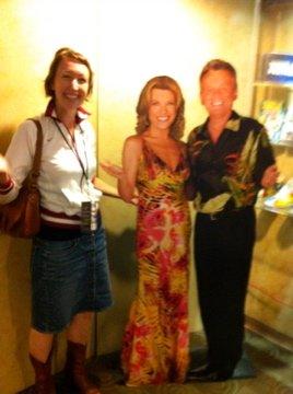 Shauna meets Pat and Vanna!