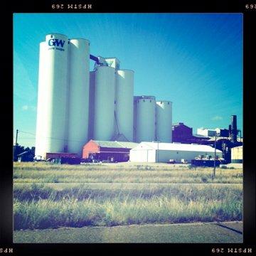 Nebraska from the road