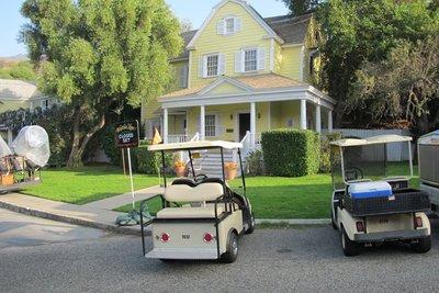 Universal Studios-Wisteria Lane set