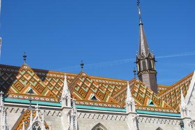 Roof of St Matthias Church