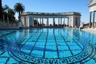 Hearst Castle-Outdoor Pool