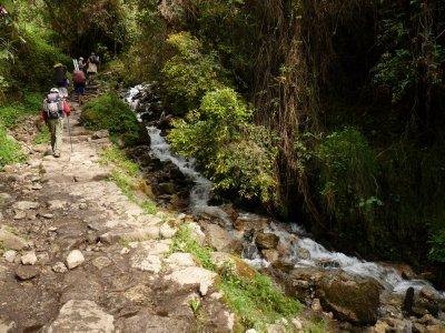 The road to Macchu Picchu, Peru