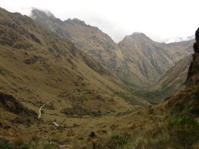 The road to Macchu Picchu, Peru