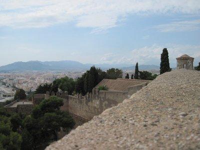 Castle Malaga Spain