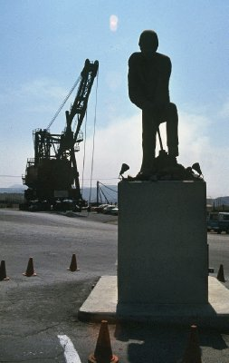 Chile - Chuquicamata mine monument(s)