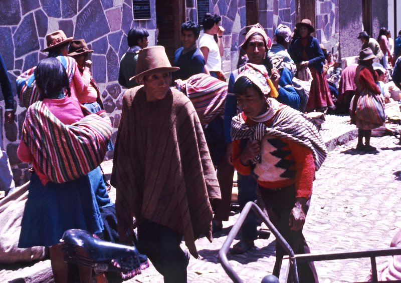 Market day in Pisac