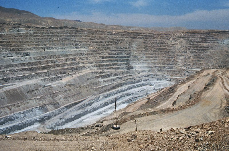 Chile - Chuquicamata mine