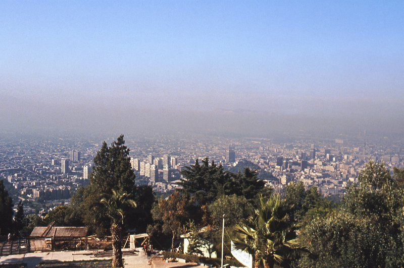 View of Santiago from Cerro San Christobal