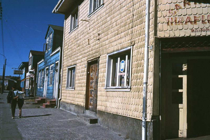 Wooden house in Puerto Montt