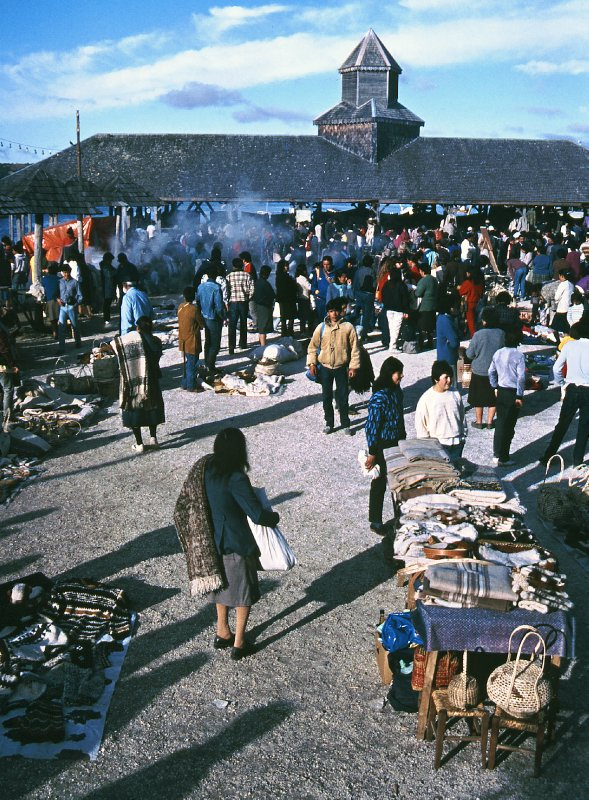 Dalcahue market on Island of Chiloe