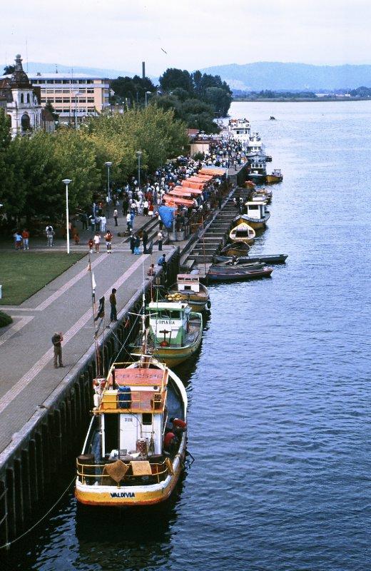 Valdivia boats