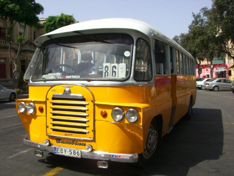 Bus on Malta