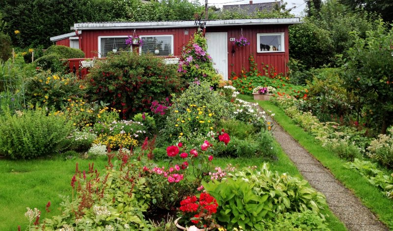 Allotment garden plot and cabin, Vland, Stavanger
