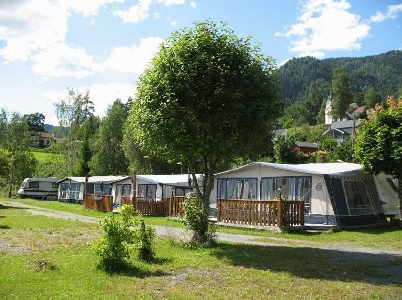Bandak Camping - Caravans and foretents