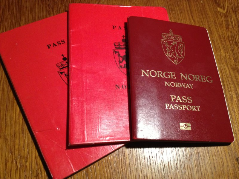 Norwegian passports