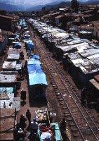 Market near San Pedro railway station, Cuzco