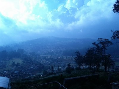 View from an Ooty View point
