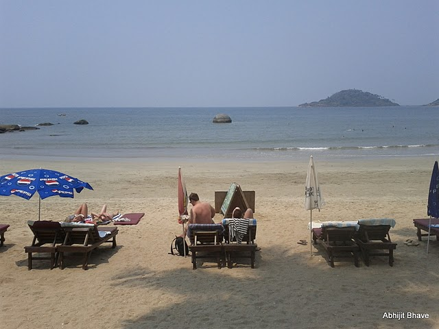 Palolem Beach in March 2011