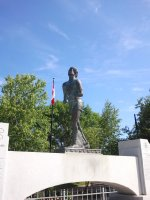Terry Fox Memorial in Thunder Bay