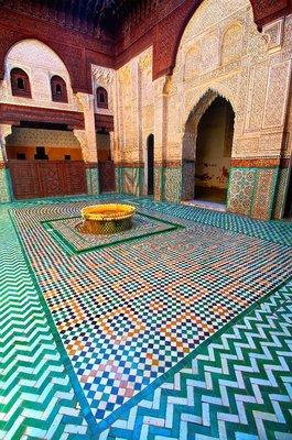 Fountain, Meknes