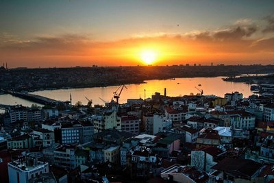 Sunset from Galata Tower