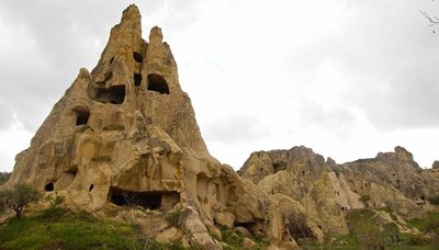 Rock Ghost, Goreme Open air museum