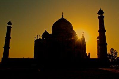Taj Mahal sunrise 1