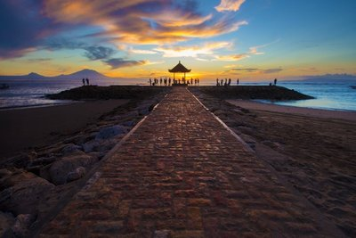 Sanur sunrise 2