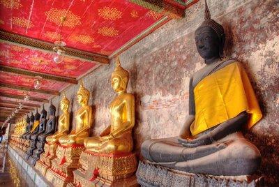 Buddha's at Wat Sunhat