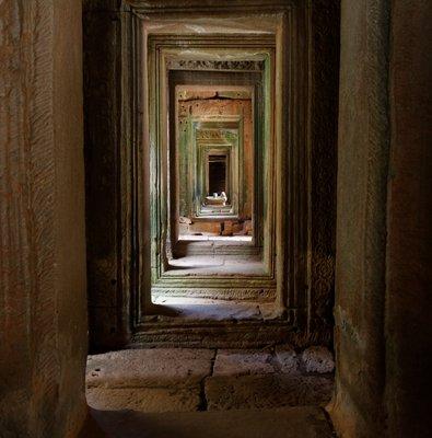 Inside Bayon
