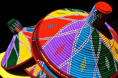 Colouful baskets