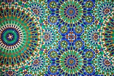 Mosiac, Hassan II mosque