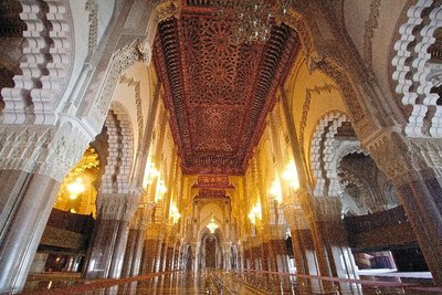 Main hall, Hassan II mosque