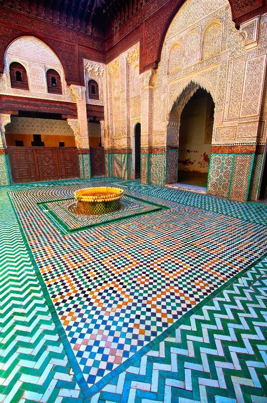 Fountain, Meknes