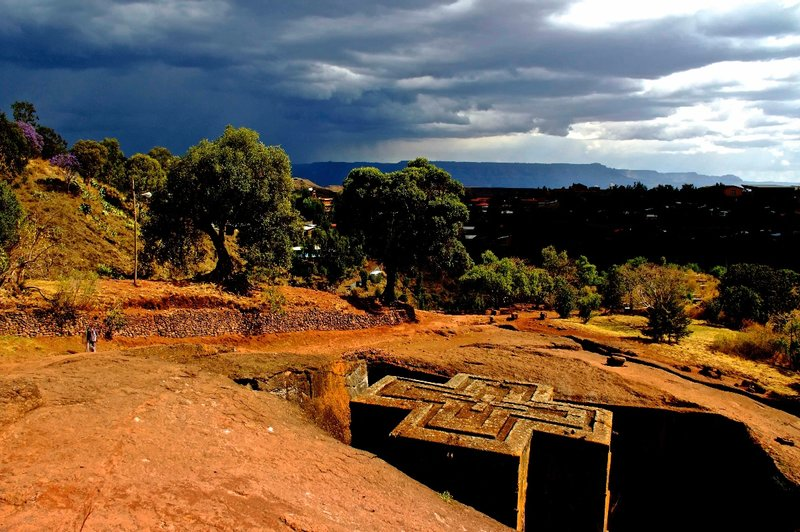 St Georges church, Lalibela