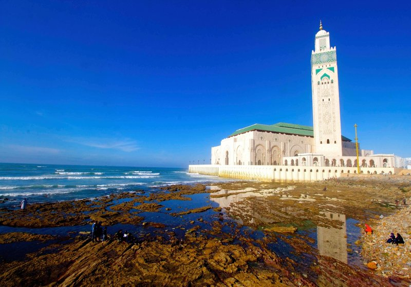 Hassan II mosque pic 2